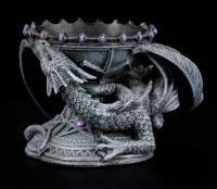 Crystal Ball Holder - Dragon Beauty
