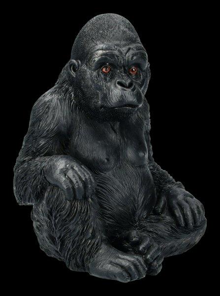 Garden Figurine - Sitting Gorilla