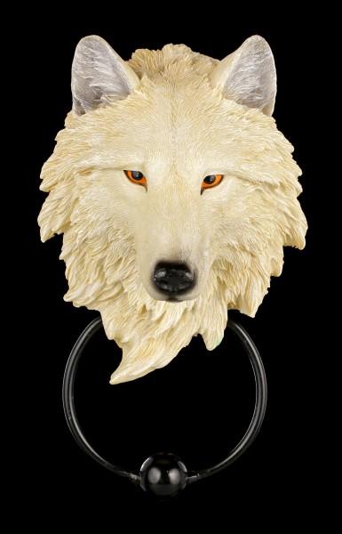 Door Knocker Wolf - Light Guardian