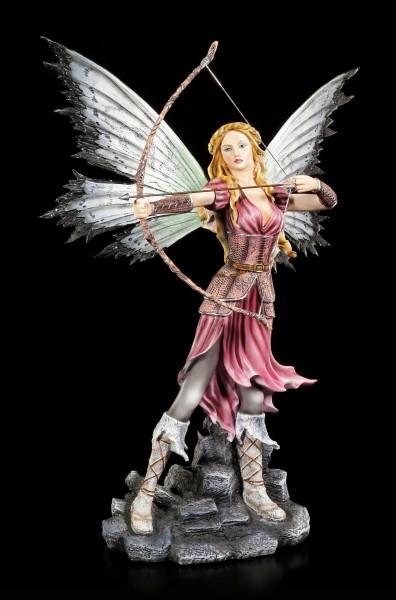 Elfen Figur - Kriegerin Shea mit Pfeil und Bogen