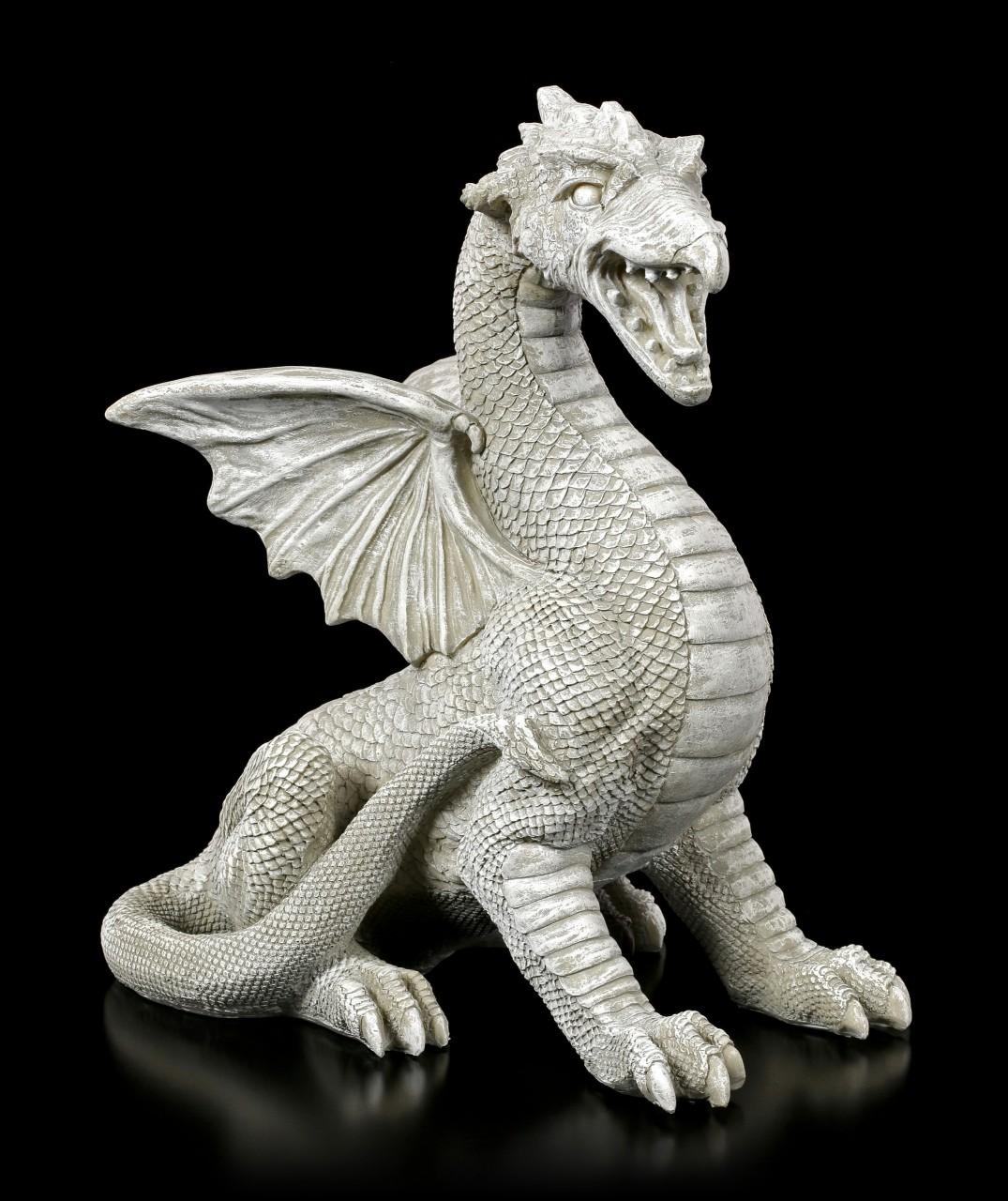 Garden Figurine - Dragon growling