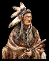 Indianer Figur - Krieger mit Speer