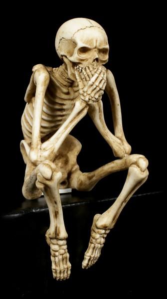 Skelett Kantenhocker - 3er Set