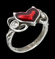 Alchemy Gothic Ring - Little Devil Heart