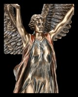 Archangel Gabriel Figurine with Double Cross