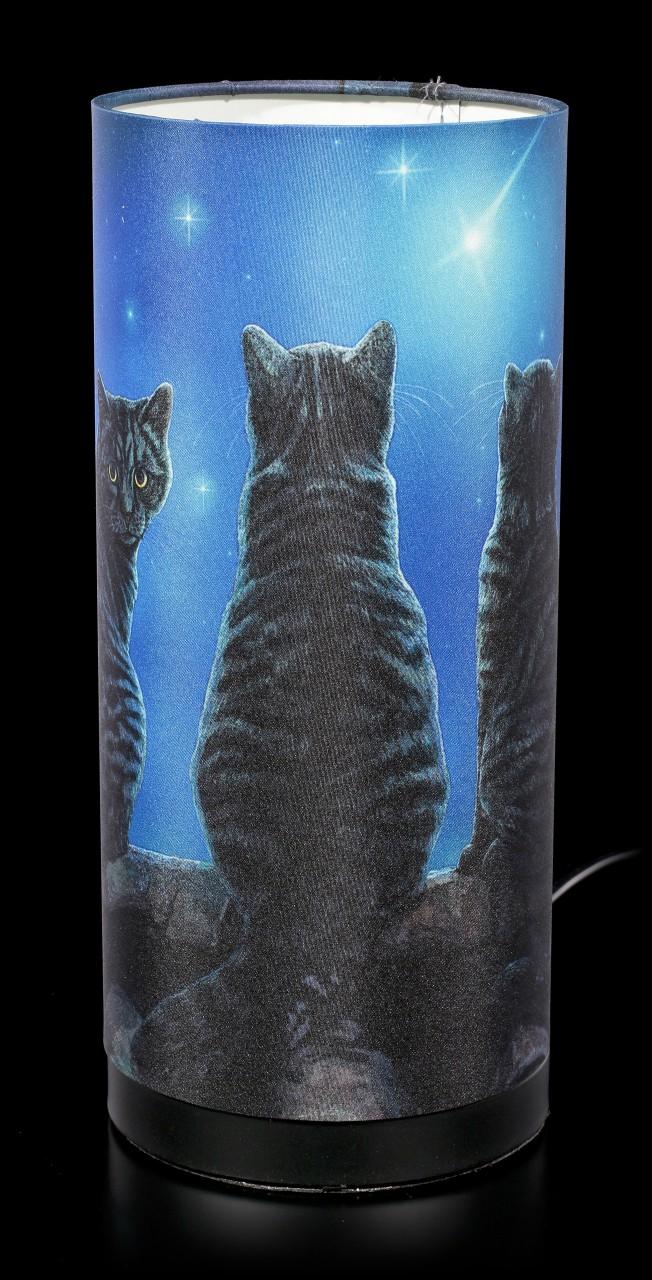 Tischlampe mit Katzen - Wish Upon a Star