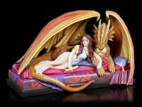 Dragon Figurine with Woman - Inner Sanctum