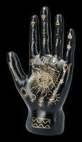 Wahrsager Hand - Palmistry schwarz