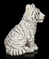 White Tiger Figurine - Baby sitting