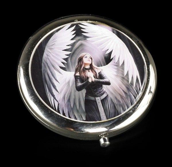 Taschenspiegel mit Engel - Prayer For The Fallen