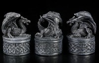 Small Dragon Boxes - Set of 3