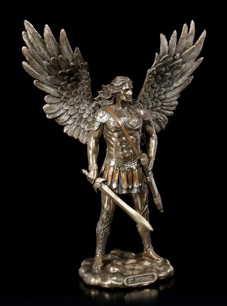 Erzengel Figur - Michael mit Schwert