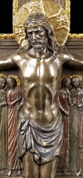 Kreuz von San Damiano - Kruzifix mit Jesus