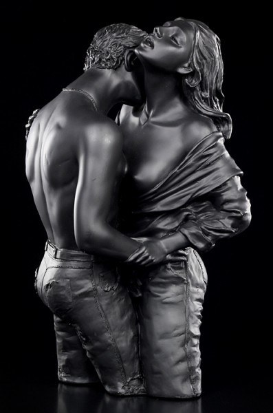Erotische Figur - Liebespaar Kuss groß
