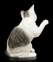 Garden Figurine - Playful Cat