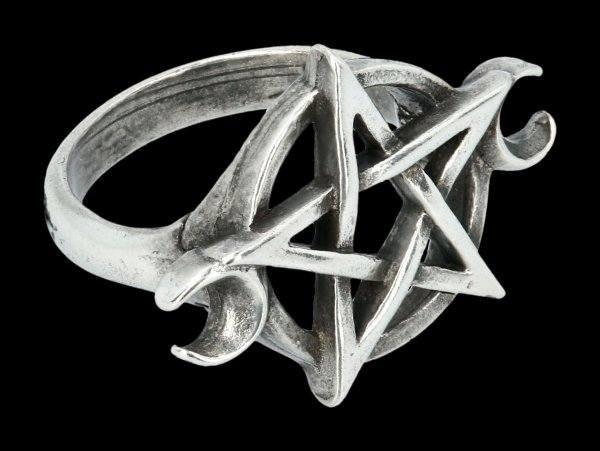 Alchemy Pentagram Ring - Goddess