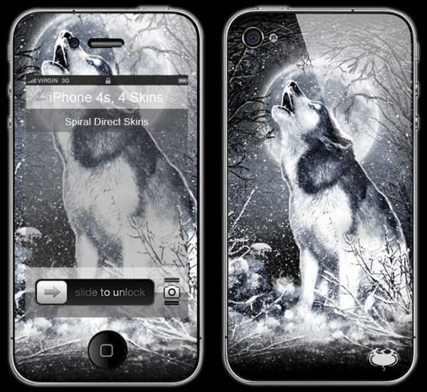 Fantasy Smartphone Skin - White Wolf