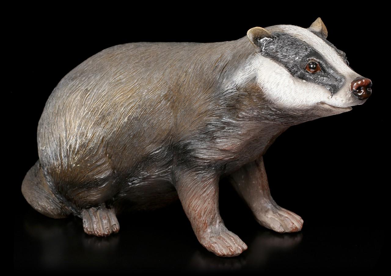 Garden Figurine - Badger