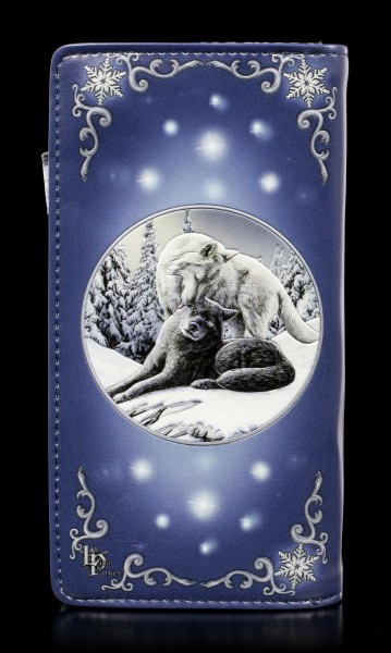 Embossed Purse with Wolves - Snow Kisses