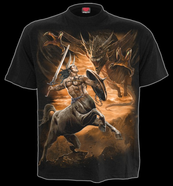 Drachen T-Shirt - Centaur Slayer