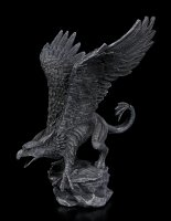 Schwarze Greif Figur