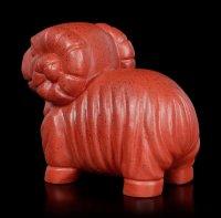 Ancient Egypt Ram Figurine - red