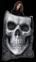 Fleecedecke Totenkopf - Solemn Skull