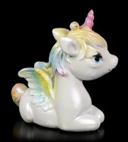 Baby Unicorn Figurine with Wings