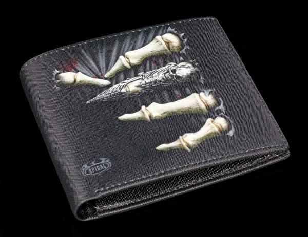 Geldbörse mit Skeletthand - Death Grip