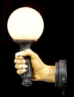 Wall Lamp - Right Vampire Hand by Markus Mayer