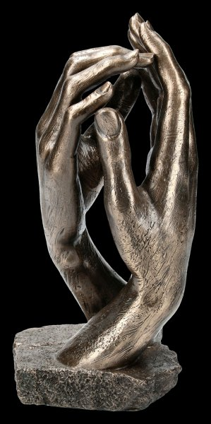 "Sculpture ""The Cathedral"" by Auguste Rodin"