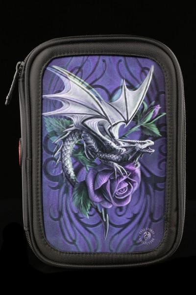 Großes 3D Federmäppchen - Dragon Beauty