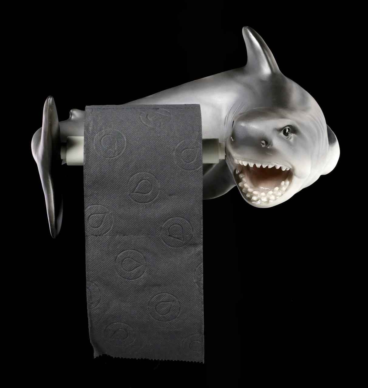 Toilettenpapierhalter - Haifisch