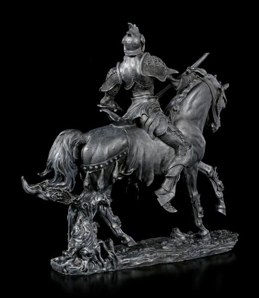 Dämonen Figur - Nakaa auf Pferd - schwarz