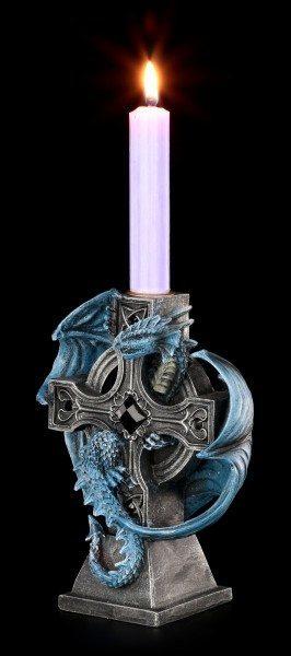 Kerzenhalter Drache - Draco Candela by Anne Stokes