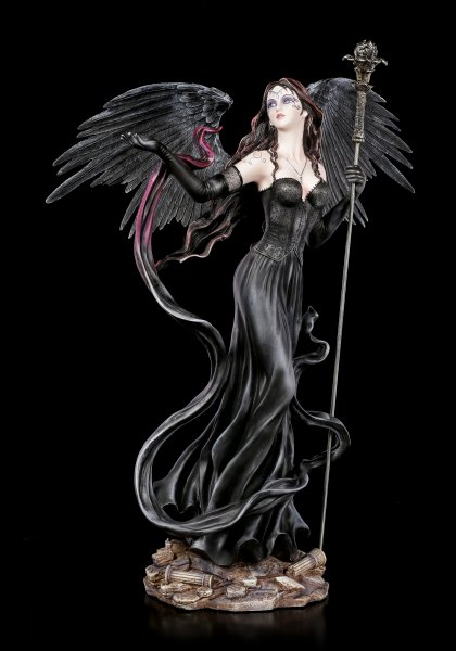 Dark Angel Figurine - Falia with Scepter