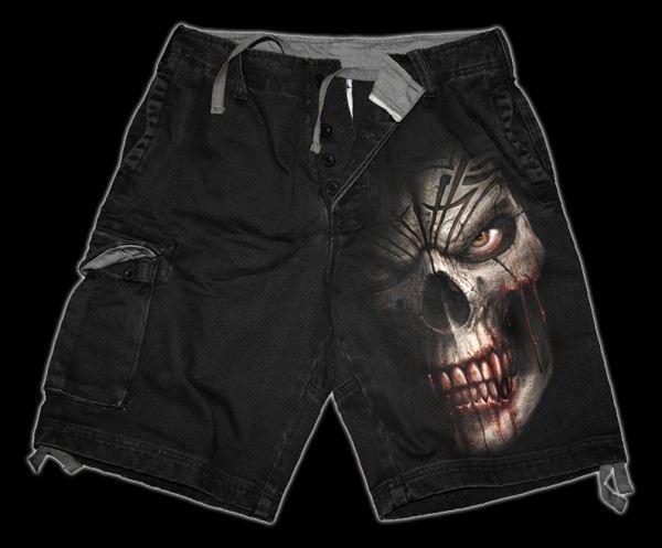 Shorts - Skull Shock