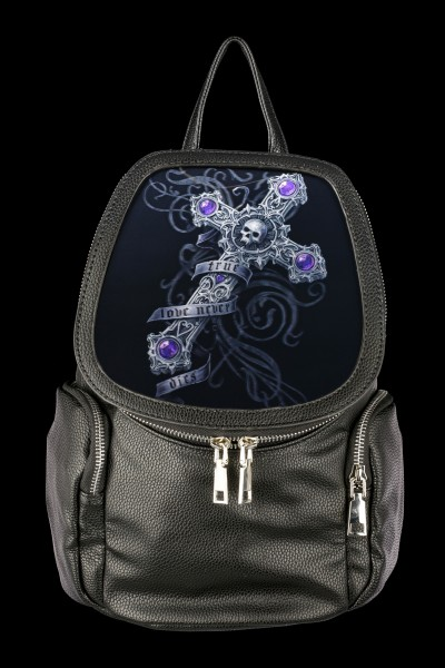 3D Backpack with Cross - True Love Never Dies