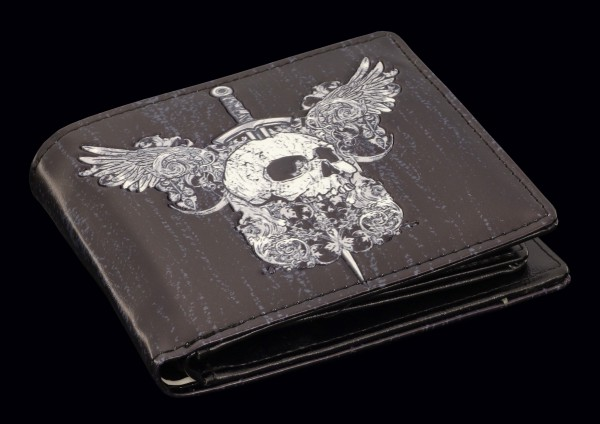 Men Wallet - Skull & Wings