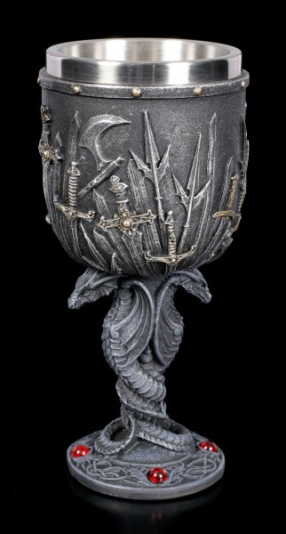 Medieval Goblet - Double-Dragon