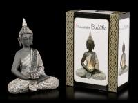 Buddha Teelichthalter - Licht der Erkenntnis