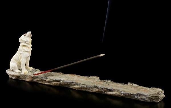 Incense Stick Holder - Call of the Wolf