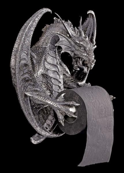 Drachen Toilettenpapierhalter - Old Wise Dragon