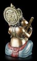 Kleine Ganesha Figur musizierend mit Sitar