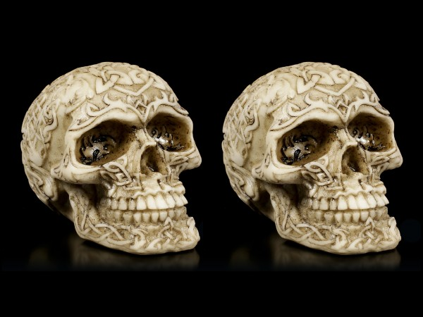 Celtic Skulls - Set of 2