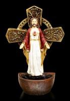 Weihwasserspender - Heiliges Herz Jesus