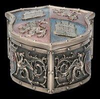 Medieval Box - Lion Crest