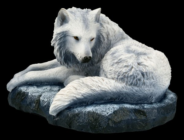 Wolf Figurine - Guardian of the North