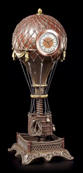 Steampunk Ballon mit Uhr