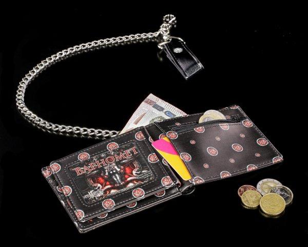 Geldbörse mit Kette - Baphomet